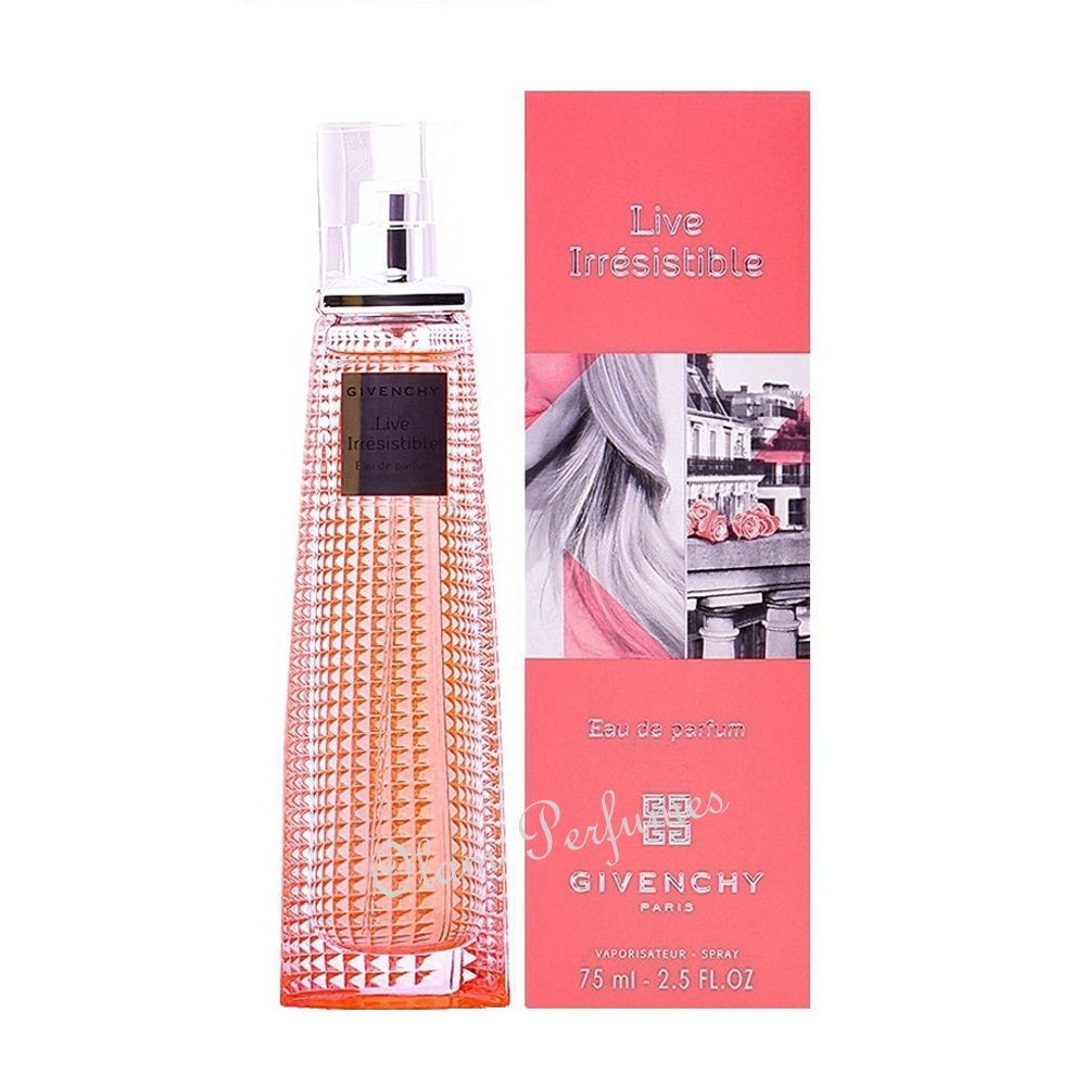 Givenchy Live Irresistible Eau de Parfum Spray 2.5oz 75ml