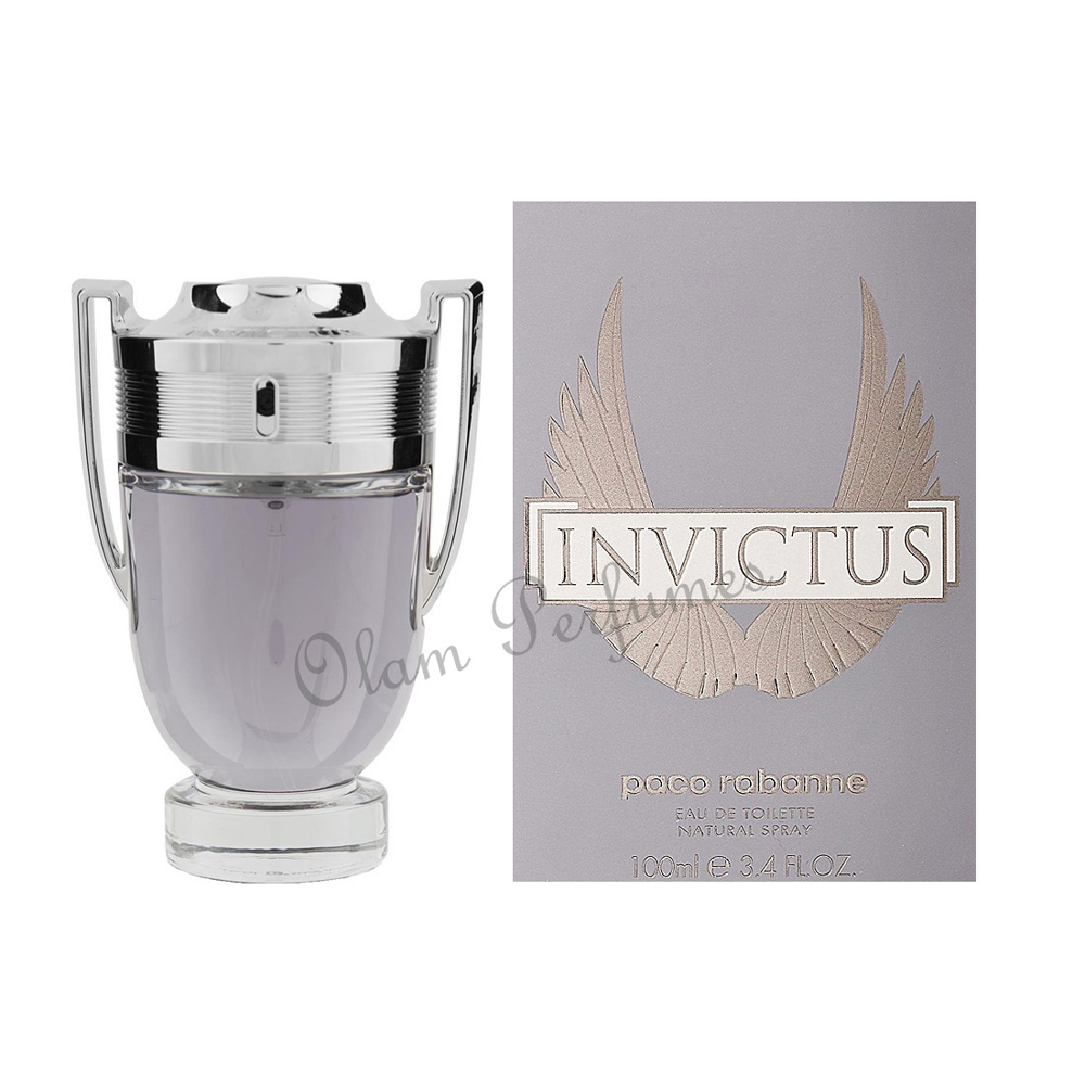 Invictus For Men Eau de Toilette Spray 3.4oz 100ml