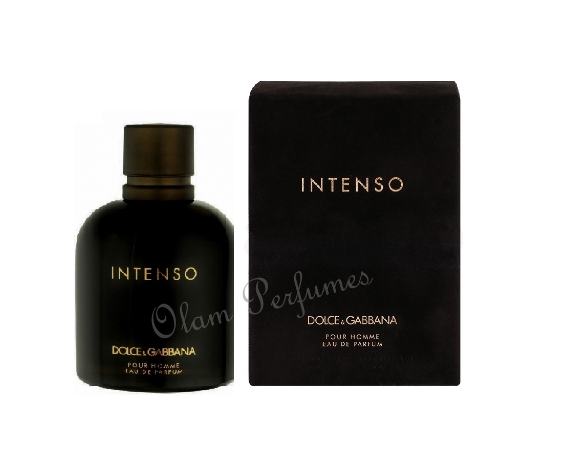 Dolce & Gabbana Intenso Pour Homme Men EDP Spray 2.5oz 75ml