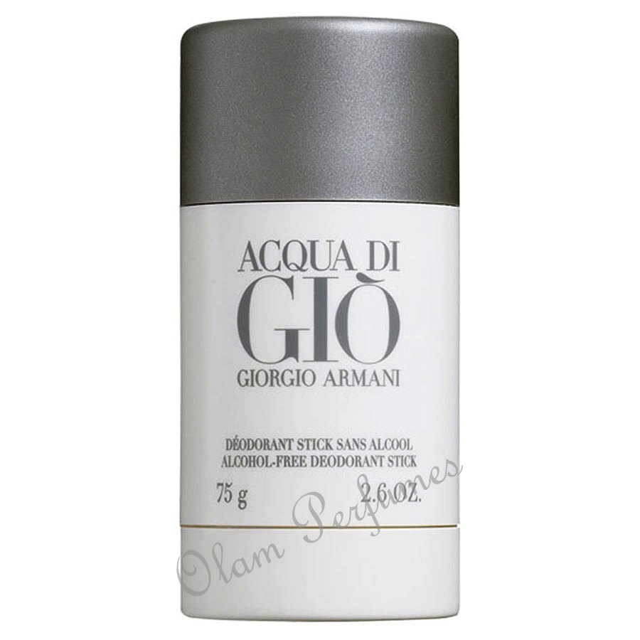 Armani Acqua Di Gio For Men Deodorant Stick 2.6oz 75g