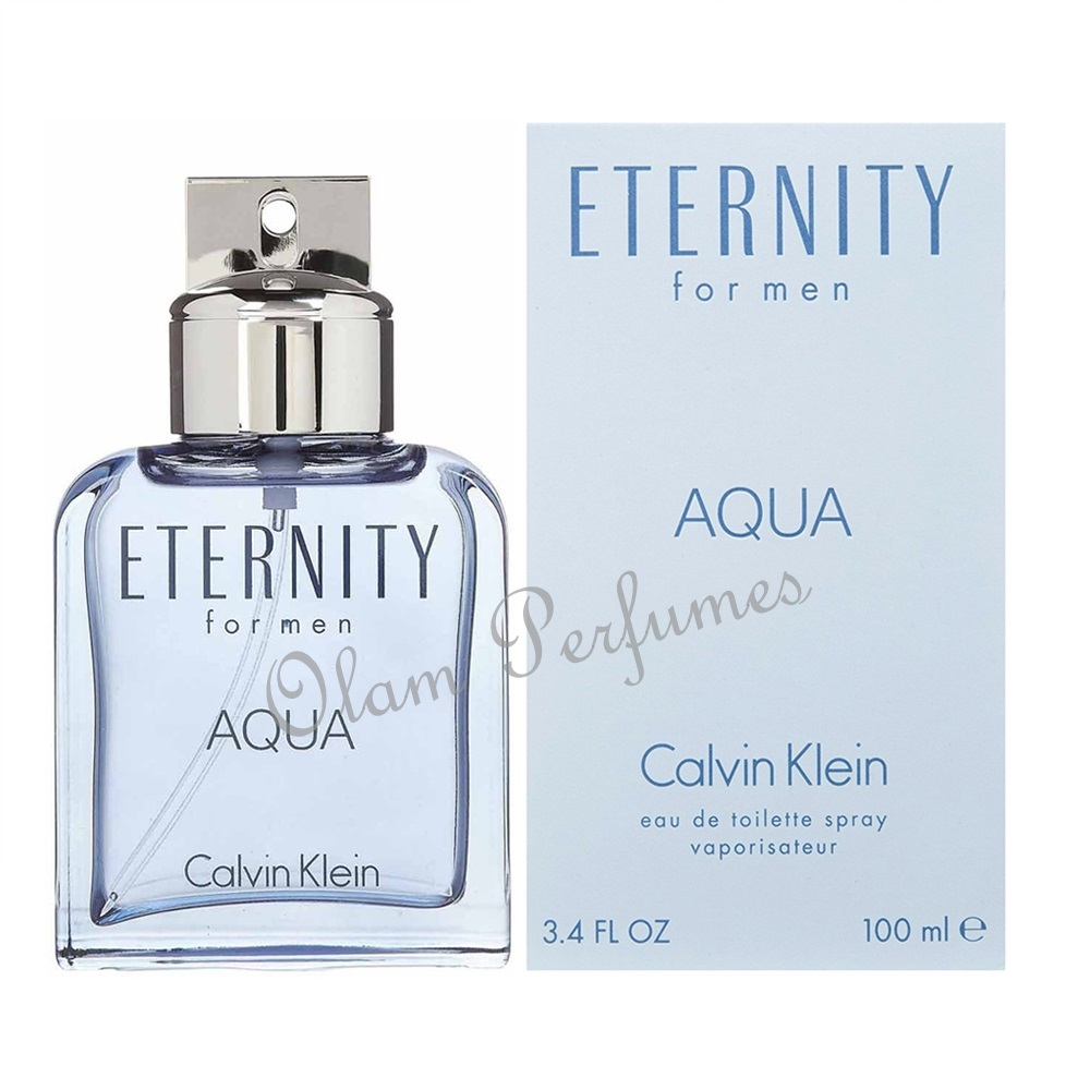Calvin Klein Eternity Aqua For Men Eau de Toilette Spray 3.4oz