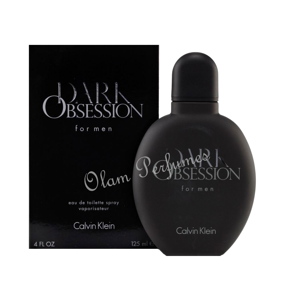 Calvin Klein Dark Obsession for Men Eau De Toilette Spray 4.0oz