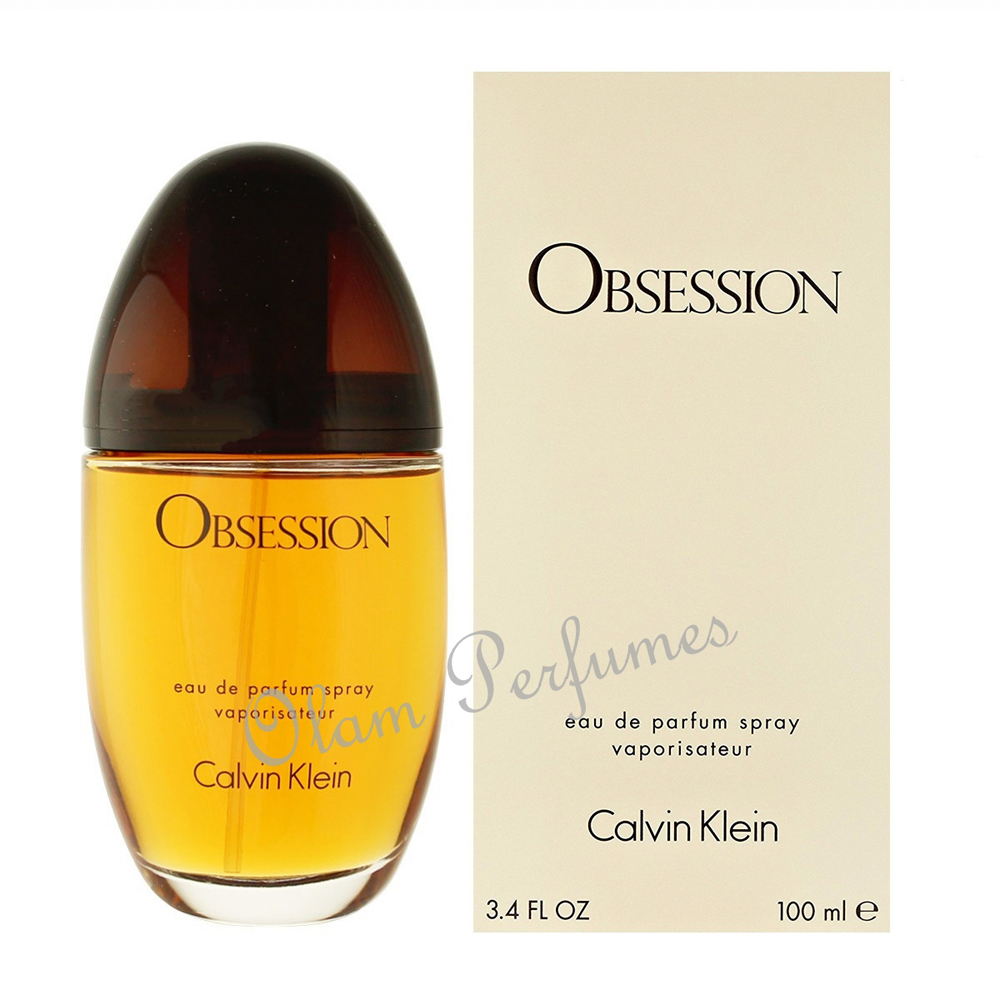Calvin Klein Obsession For Women Eau De Parfum Spray 3.4oz 100ml