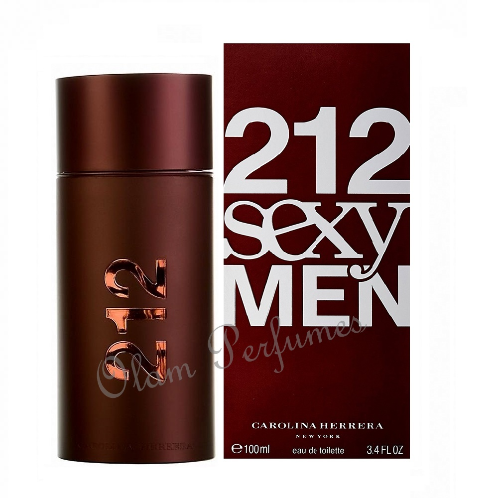 212 Sexy For Men Eau de Toilette Spray 3.4oz 100ml