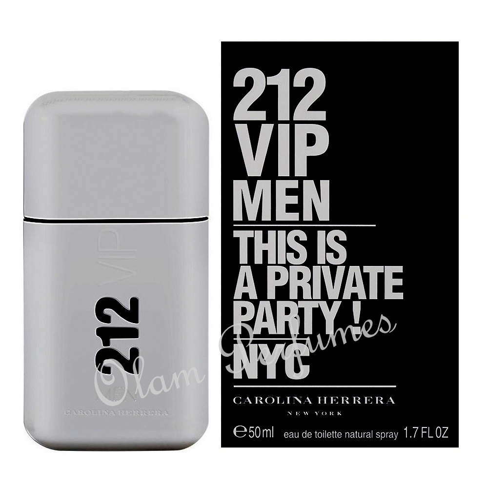 212 VIP For Men Eau de Toilette Spray 1.7oz