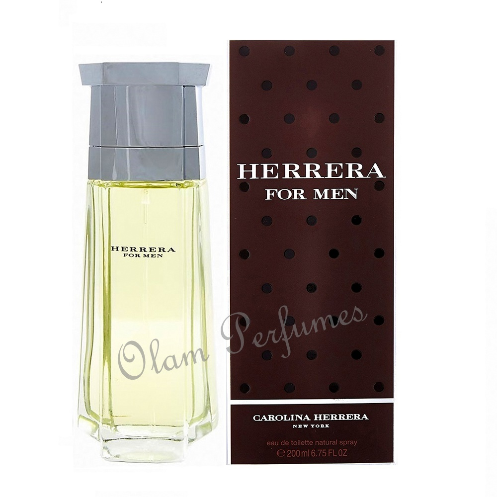Herrera For Men Eau de Toilette Spray 6.75oz 200ml