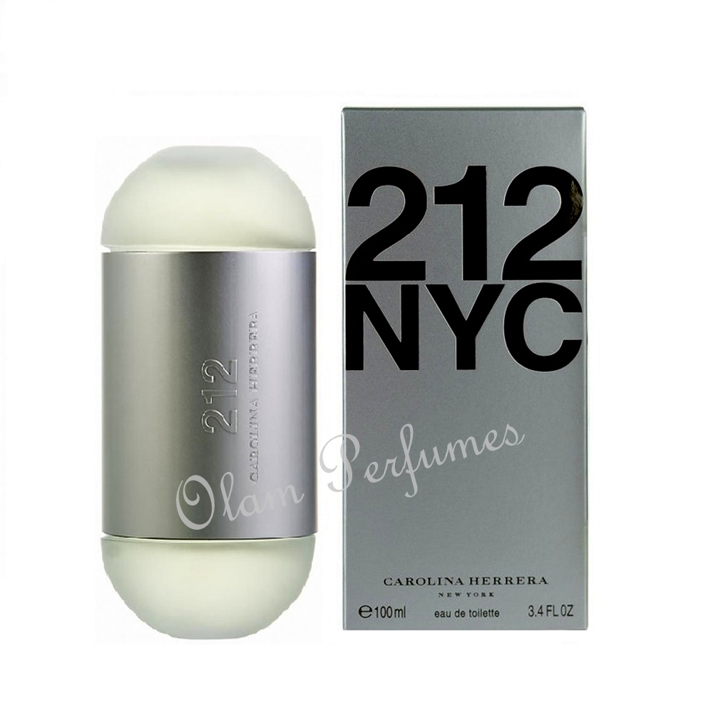 212 For Women Eau de Toilette Spray 3.4oz