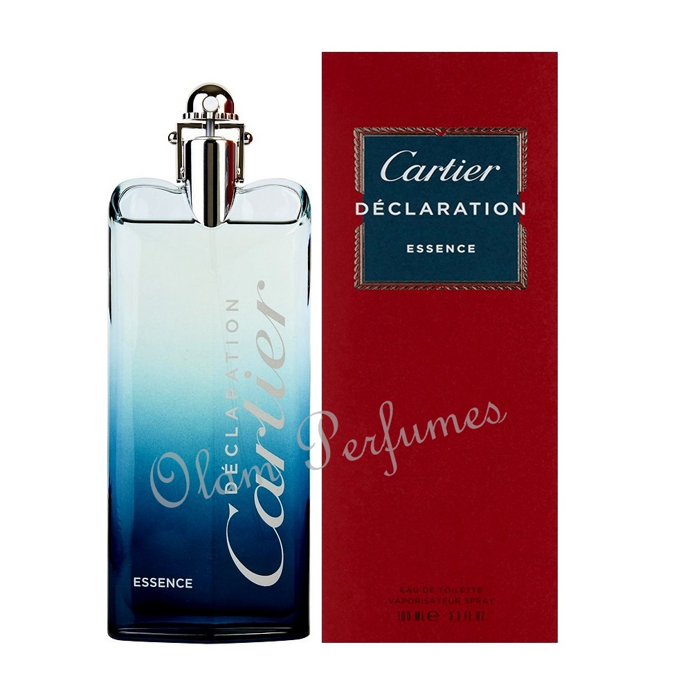 Cartier Declaration Essence Eau de Toilette Spray 3.3oz 100ml