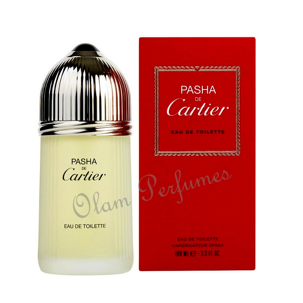 Pasha de Cartier For Men Eau de Toilette Spray 3.3oz 100ml