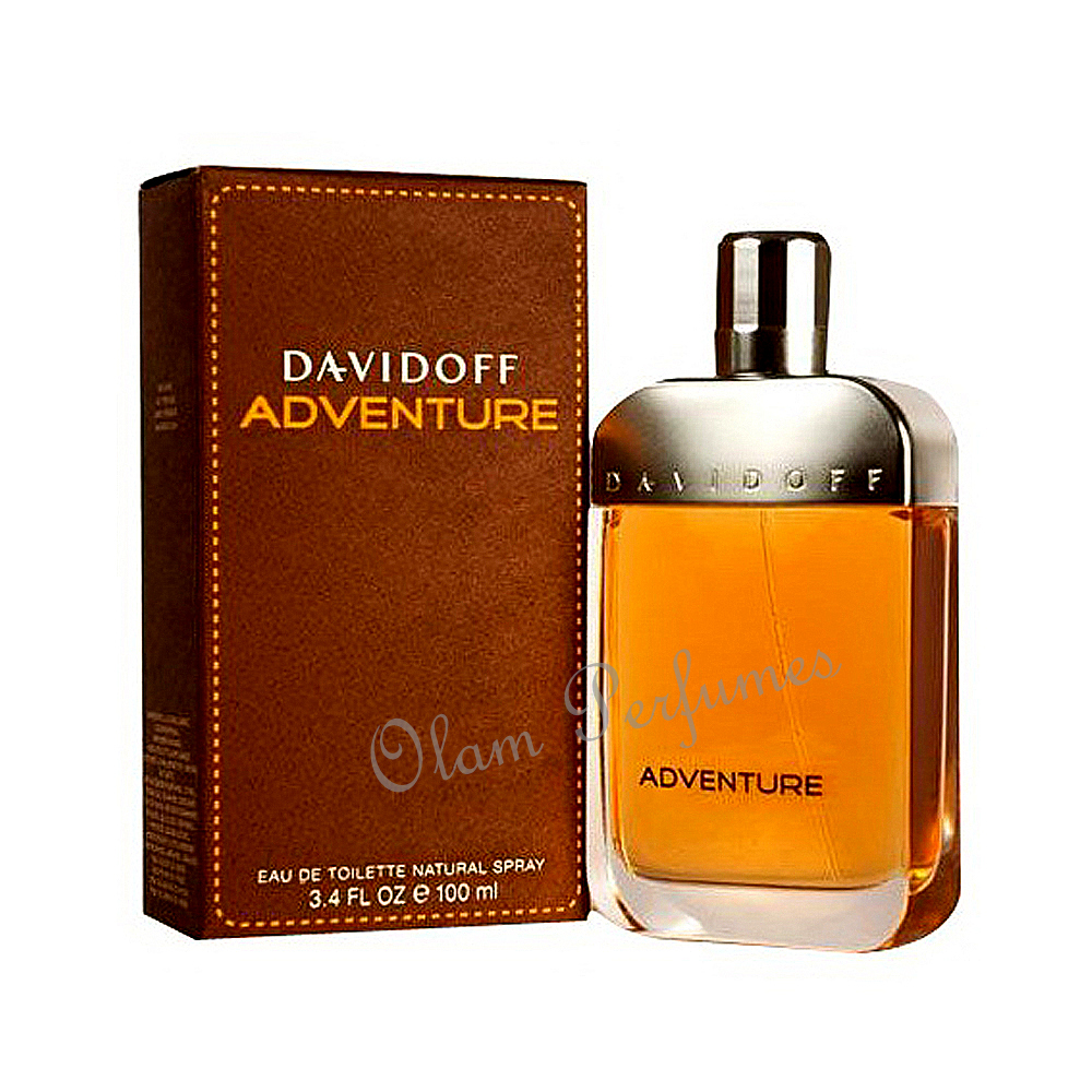 Davidoff Adventure For Men Eau De Toilette Spray 3.4oz 100ml