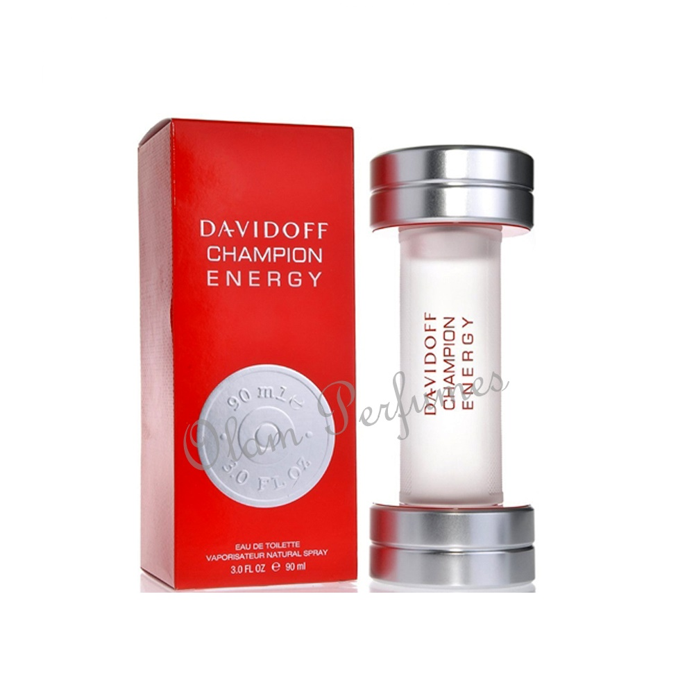 Davidoff Champion Energy For Men Eau de Toilette Spray 3.0oz 90m