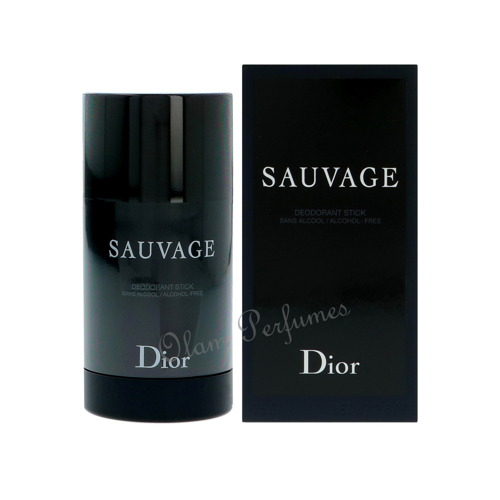 Dior Sauvage Alcohol Free Deodorant Stick for Men 2.6oz 75g