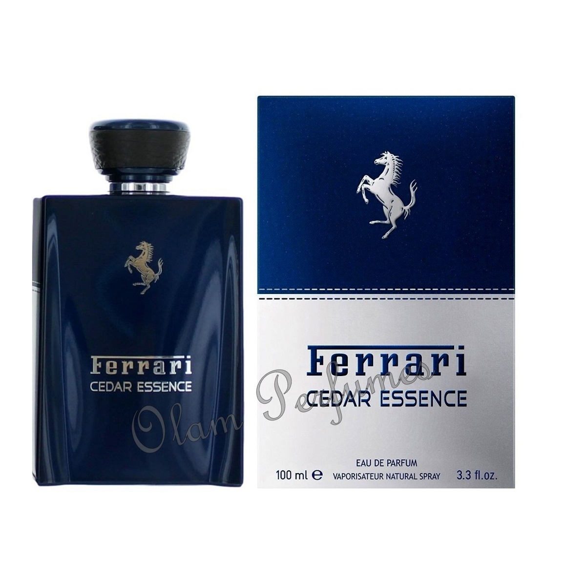 Ferrari Cedar Essence Eau de Parfum Spray 3.3oz 100ml