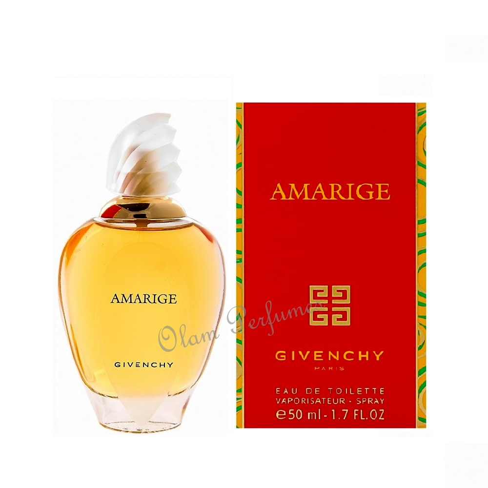 Givenchy Amarige for Women Eau de Toilette Spray 1.7oz 50ml