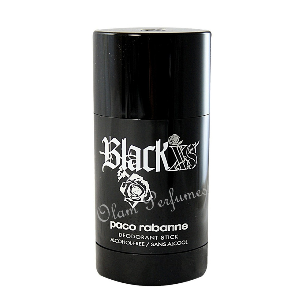 Paco Rabanne Black XS Deodorant Stick For Men 2.7oz 75g