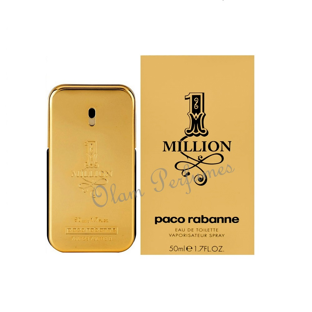 1 Million For Men Eau De Toilette Spray 1.7oz 50ml