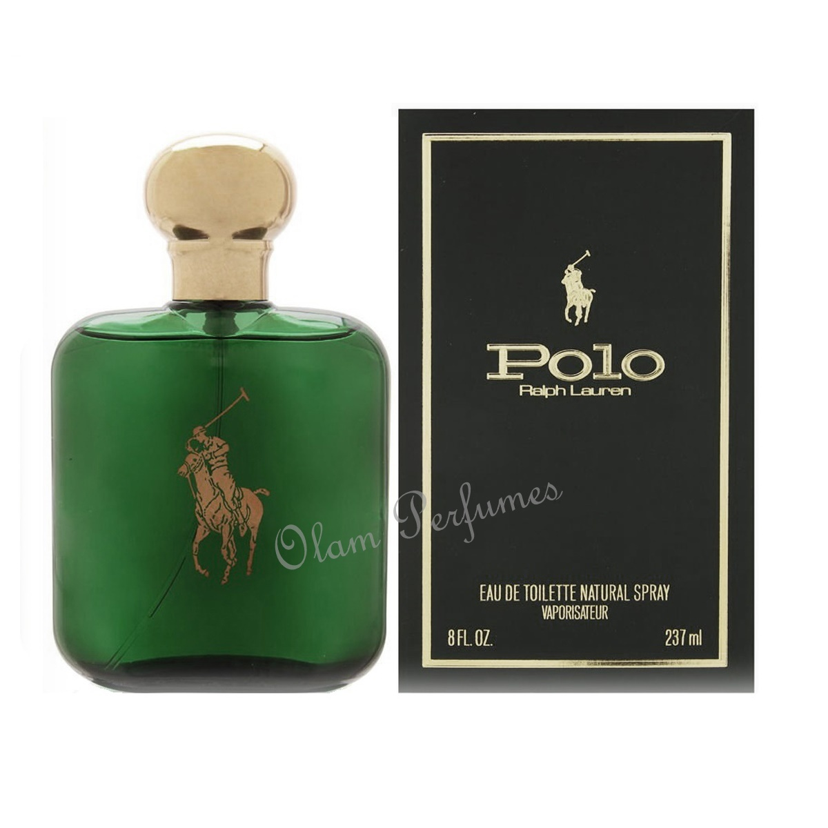 Ralph Lauren Polo Green Eau De Toilette Spray 8oz 237ml
