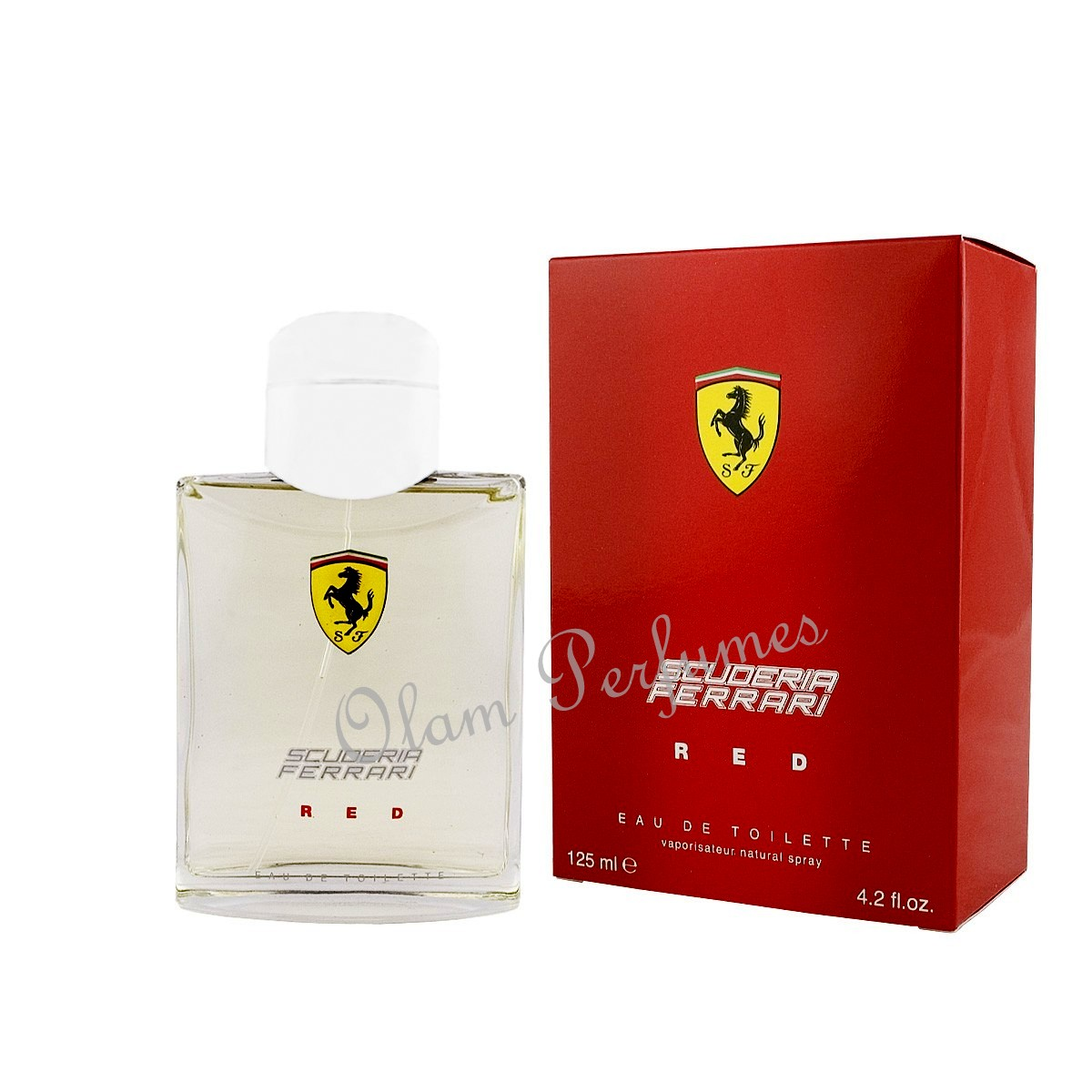Scuderia Ferrari Red Eau De Toilette Spray 4.2oz 125ml
