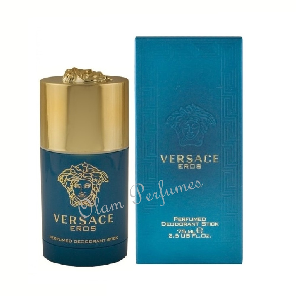 Versace Eros Deodorant Stick For Men 2.5oz 75ml