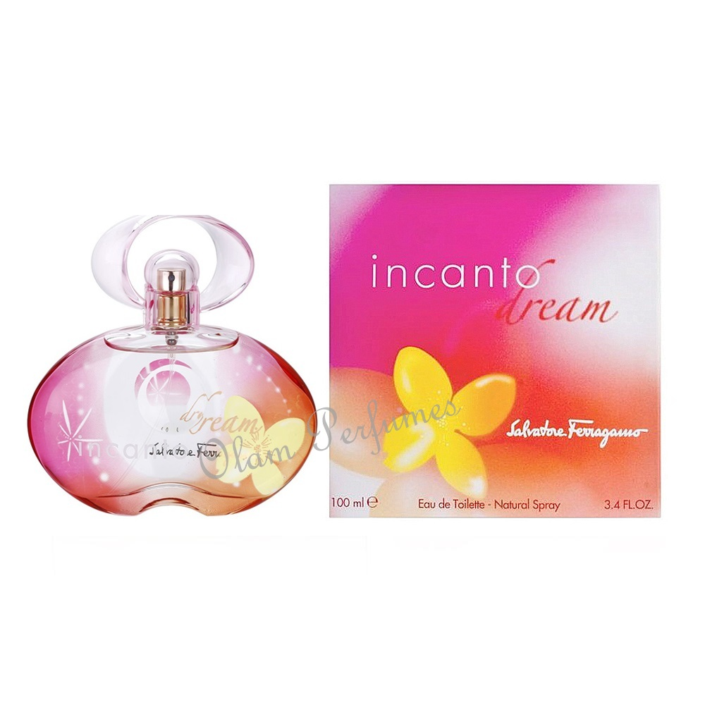 Ferragamo Incanto Dream For Women Eau de Toilette Spray 3.4oz 10