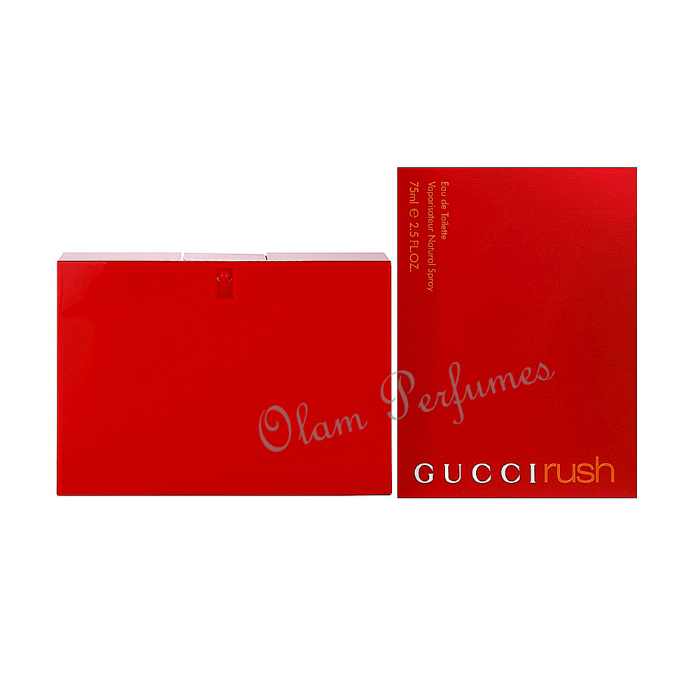 Gucci Rush Eau de Toilette Spray 2.5oz 75ml