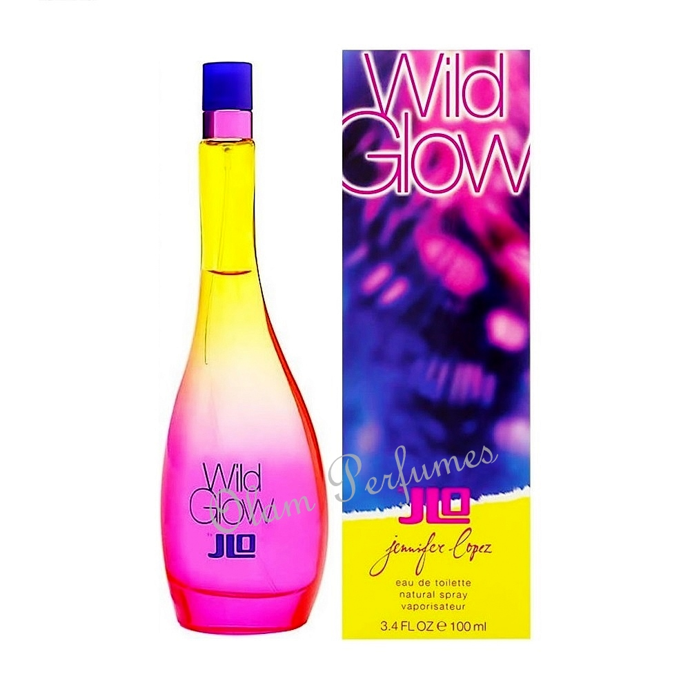 J.Lo Jennifer Lopez Wild Glow For Women 3.4oz 100ml