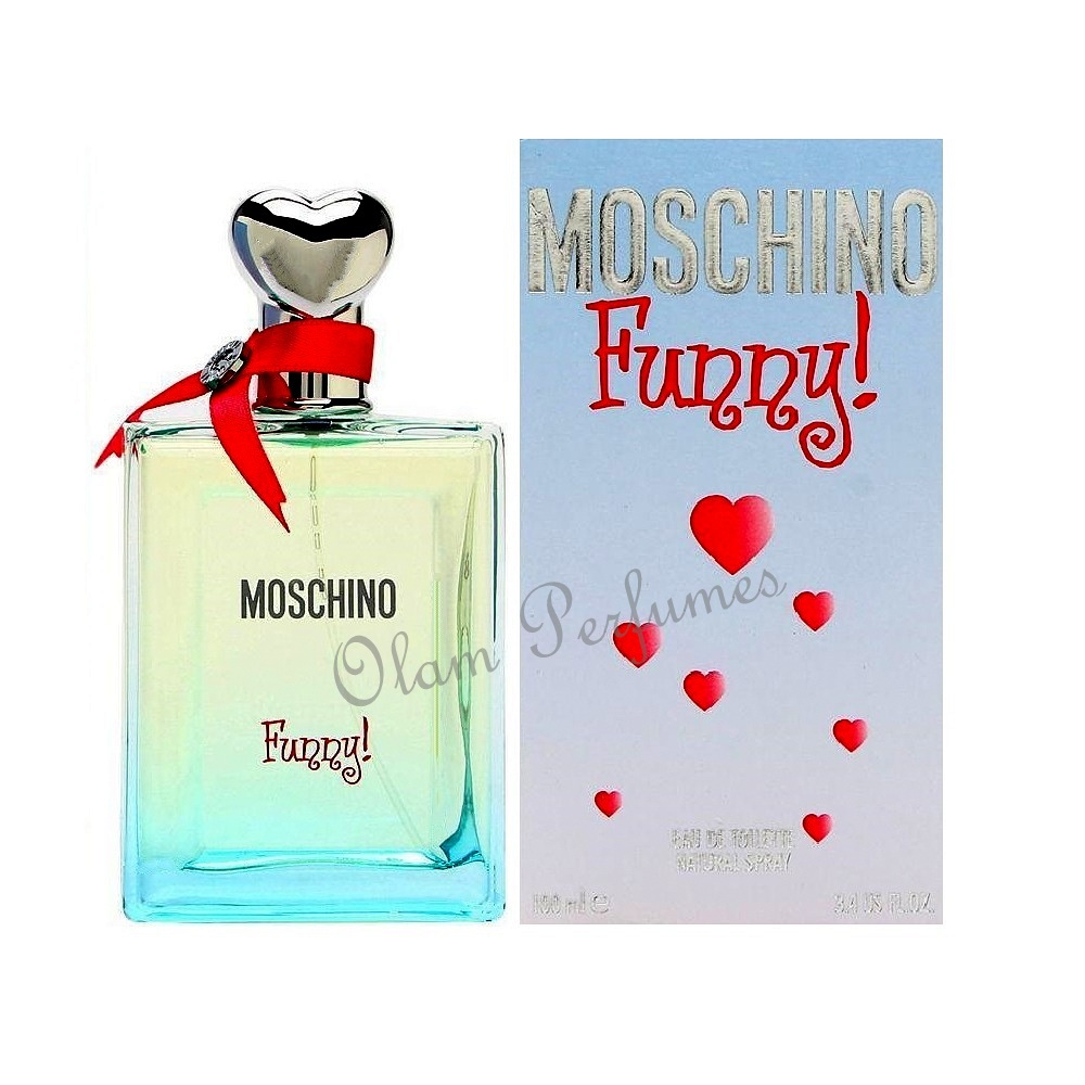 Moschino Funny For Women Eau de Toilette Spray 3.4oz 100ml