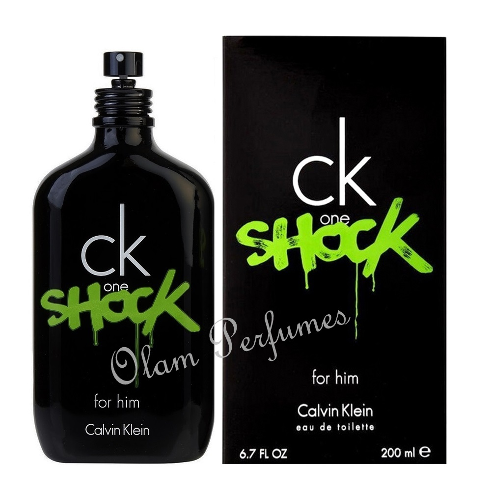 Calvin Klein Ck One Shock For Men Eau De Toilette Spray 6.7oz