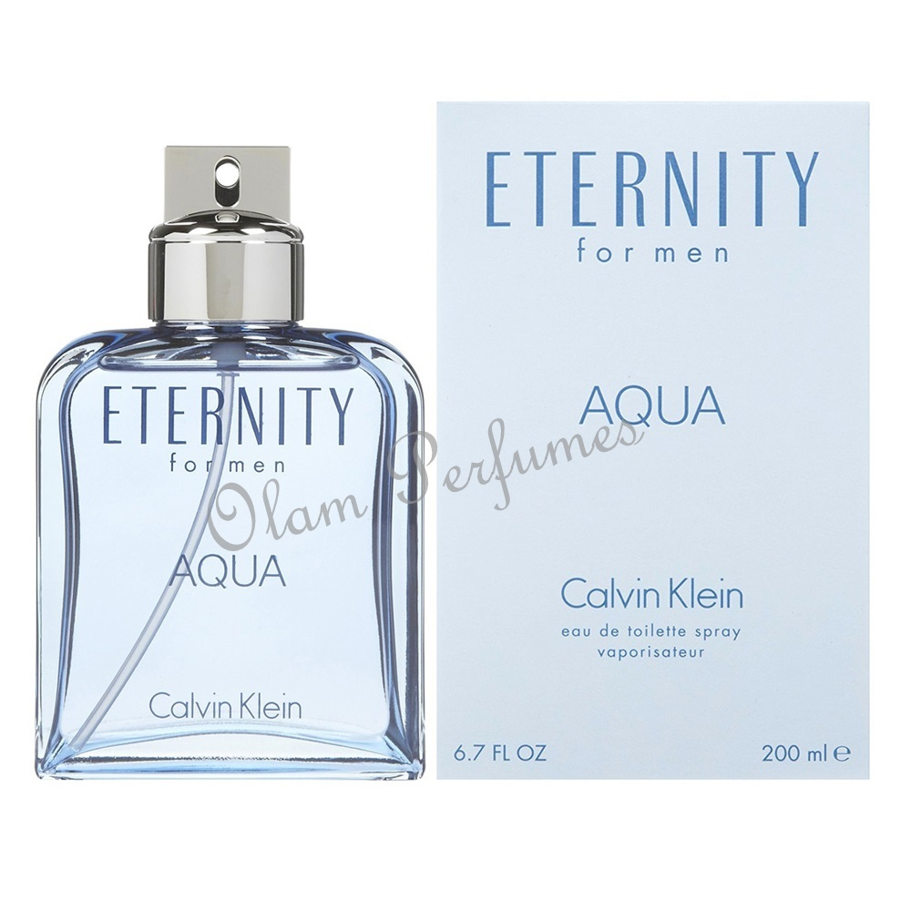 Calvin Klein Eternity Aqua For Men Eau de Toilette Spray 6.7oz