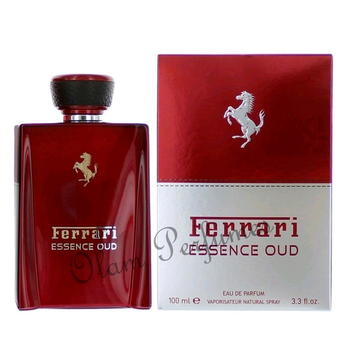 Ferrari Essence Oud Eau de Parfum Spray 3.3oz 100ml