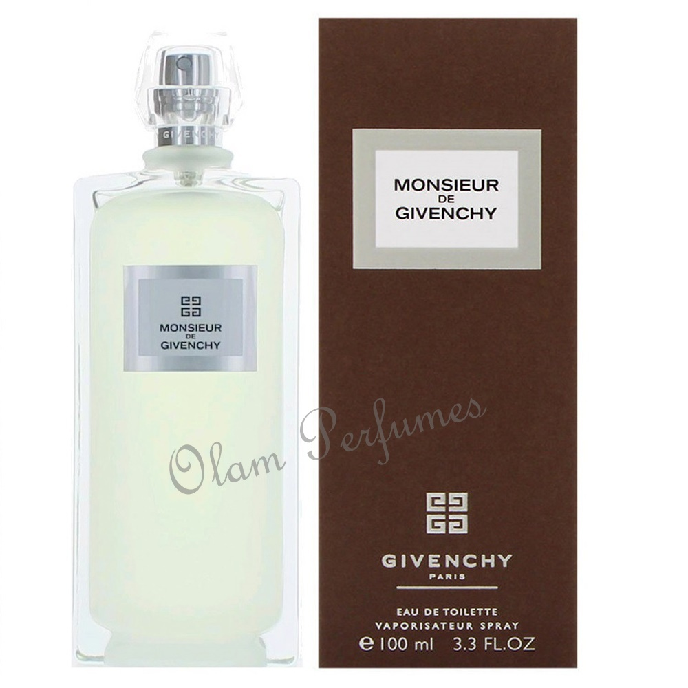 Givenchy Monsieur de Givenchy Eau de Toilette Spray 3.3oz 100ml