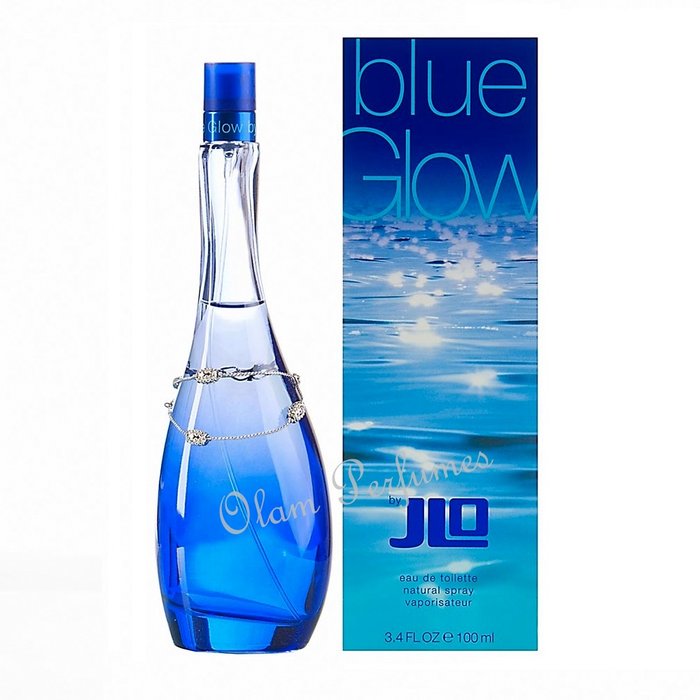 J.Lo Jennifer Lopez Blue Glow For Women 3.4oz 100ml