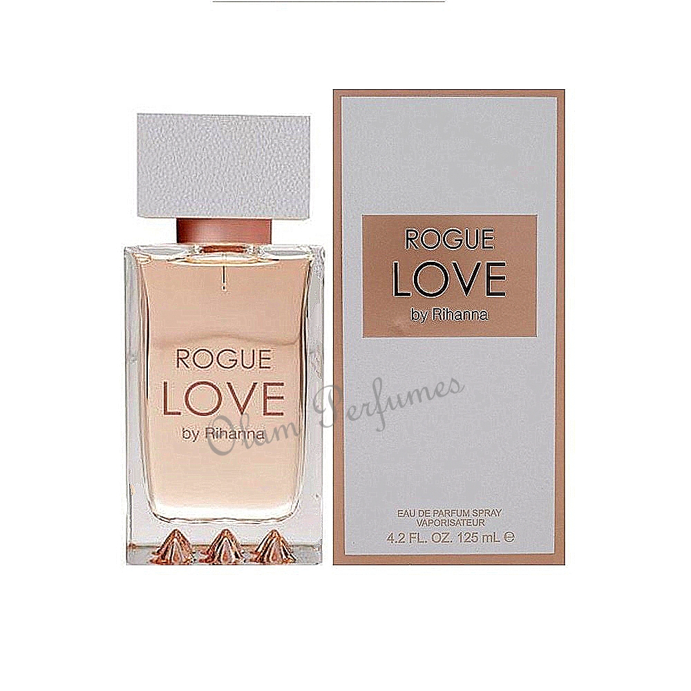 Rihanna Rogue Love For Women Eau De Parfum Spray 4.2oz 125ml