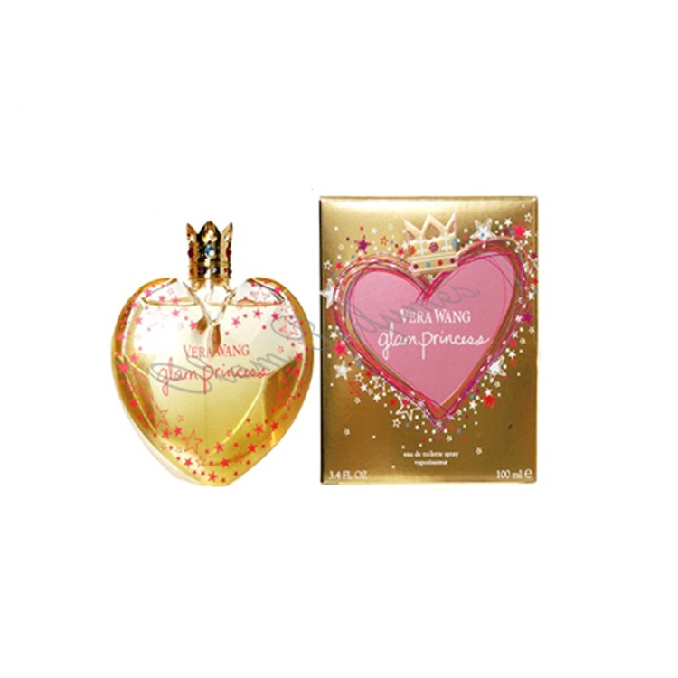 Vera Wang Glam Princess for Women Eau De Toilette Spray 3.4oz