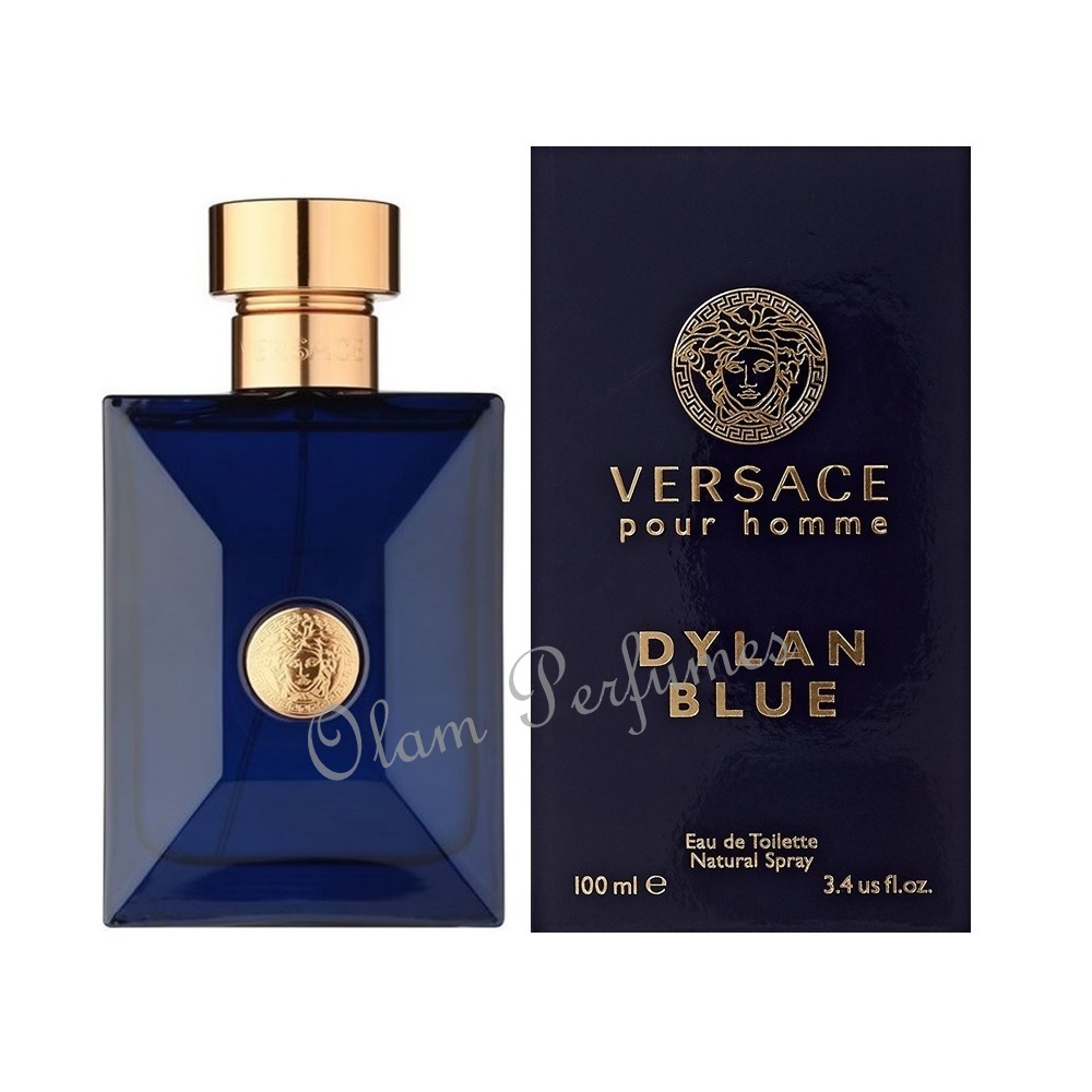 Versace Dylan Blue Eau de Toilette Spray 3.4oz 100ml