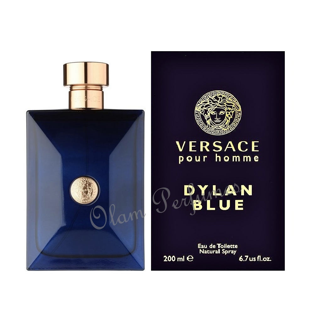Versace Dylan Blue Eau de Toilette Spray 6.7oz 200ml