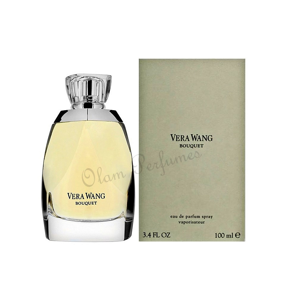 Vera Wang Bouquet For Women Eau De Parfum Spray 3.4oz 100ml