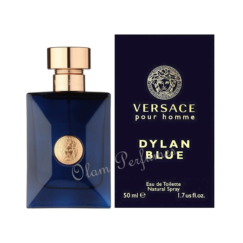 Versace Dylan Blue Eau de Toilette Spray 1.7oz 50ml