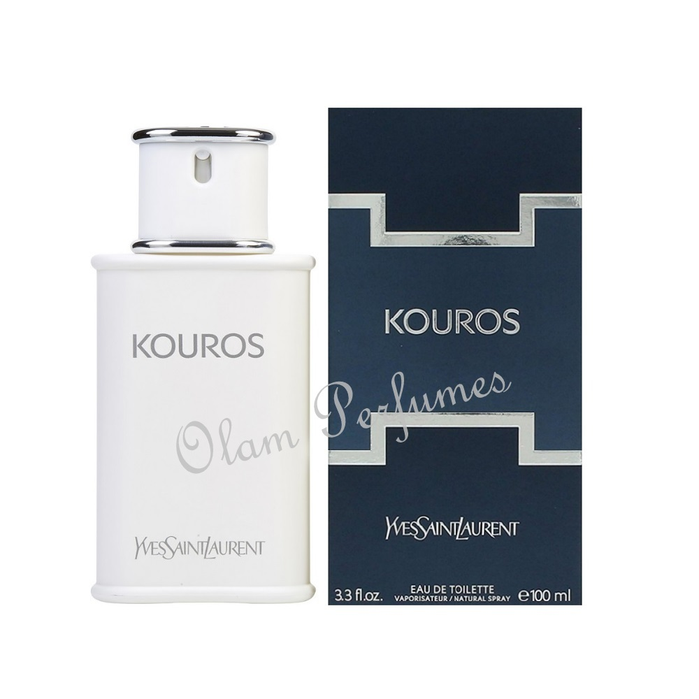 YSL Yves Saint Laurent Kouros Eau de Toilette Spray 3.3oz 100ml