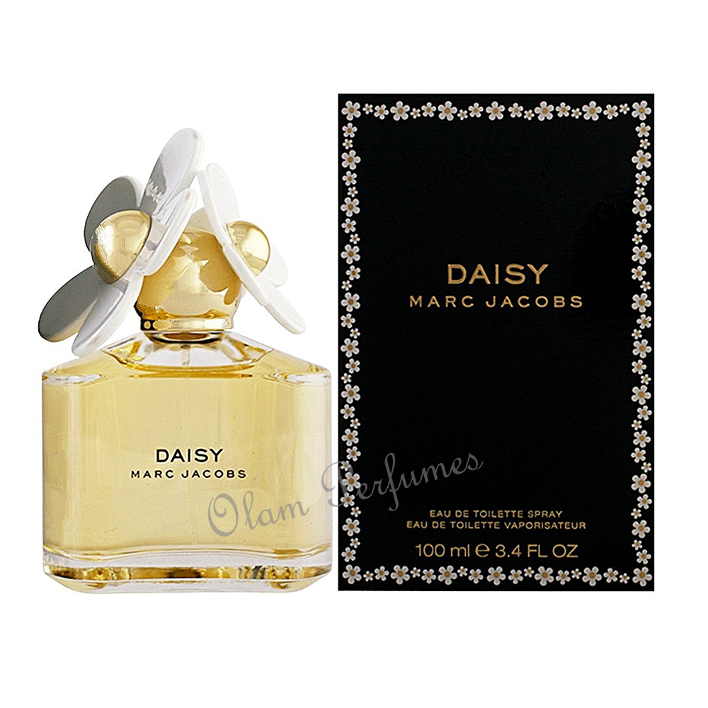 Marc Jacobs Daisy Eau De Toilette Spray 3.4oz 100ml For Women
