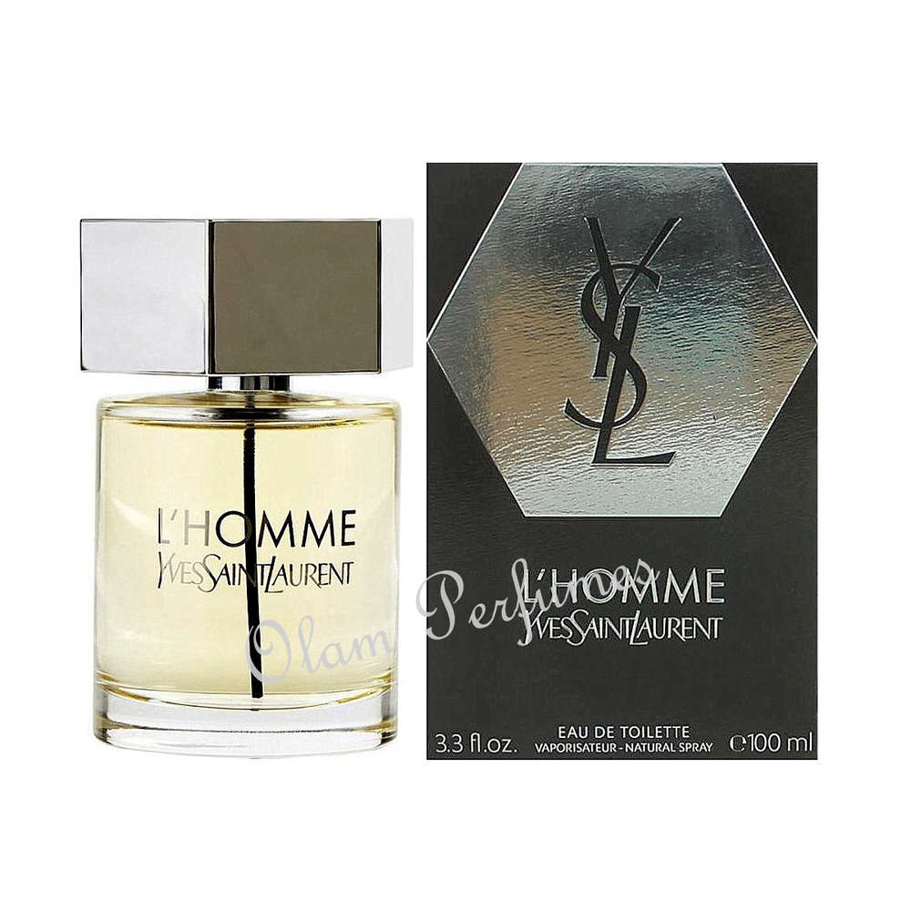 Yves Saint Laurent L'Homme Eau de Toillete Spray 3.3oz 100ml