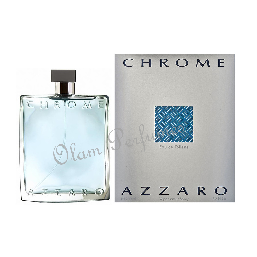 Azzaro Chrome Eau De Toilette Spray 6.8oz 200ml