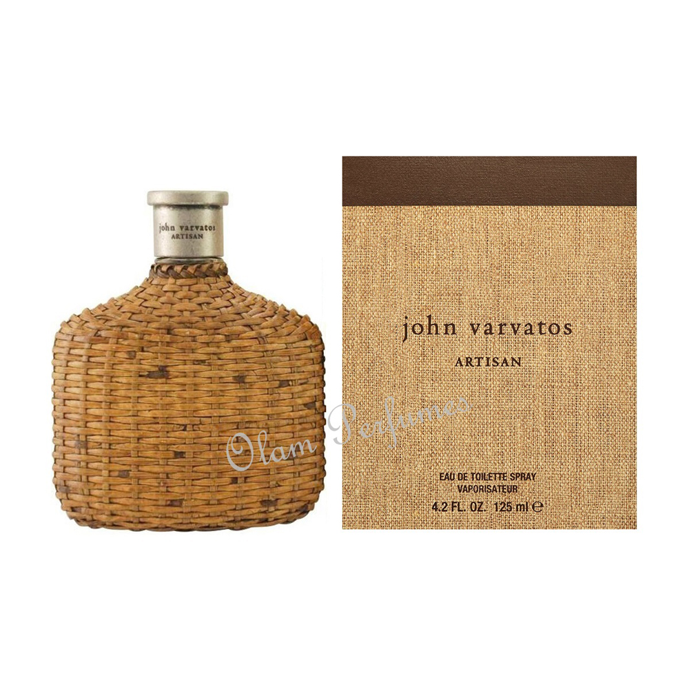 John Varvatos Artisan For Men Eau de Toilette Spray 4.2oz 125ml