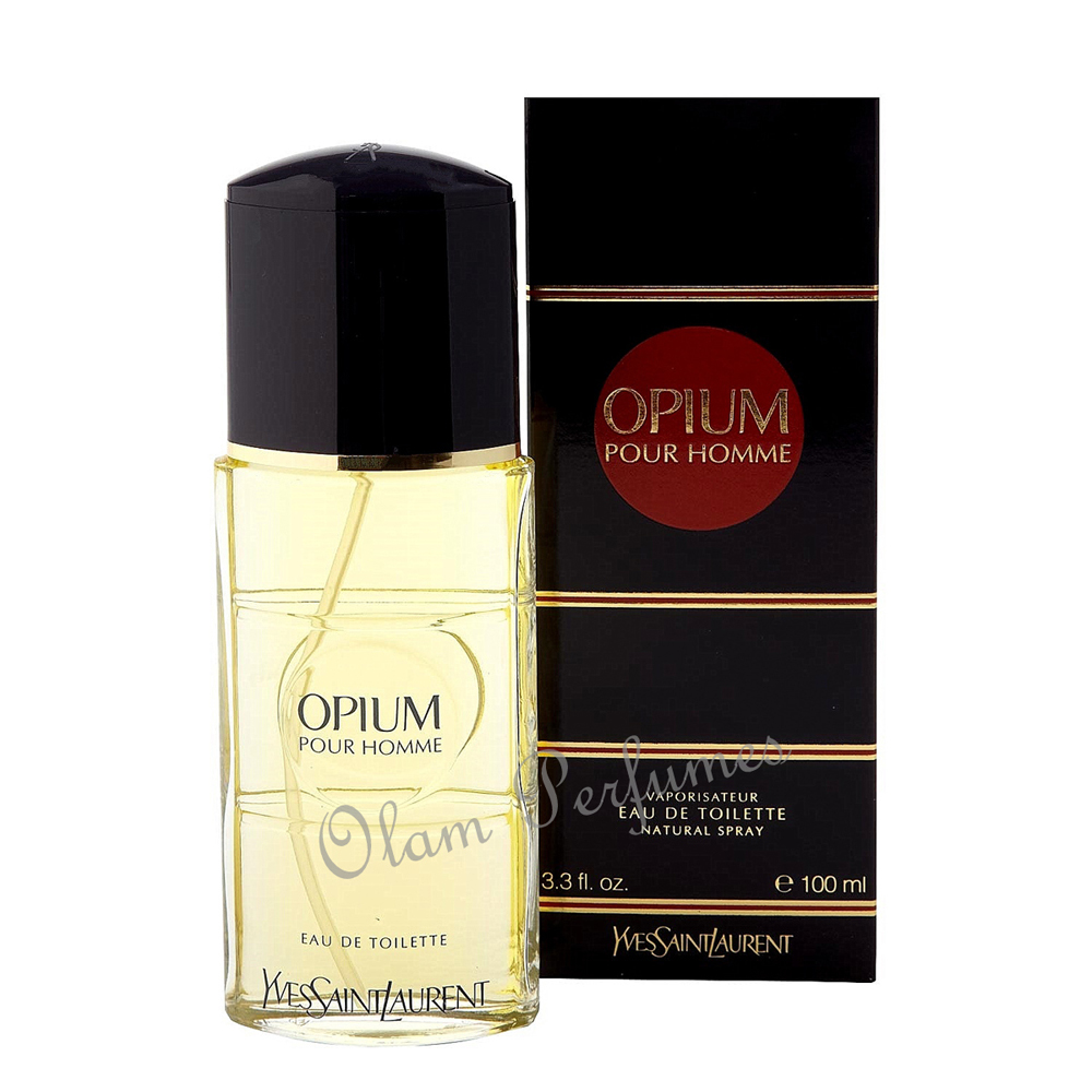 Yves Saint Laurent Opium for Men Eau de Toilette Spray 3.3oz