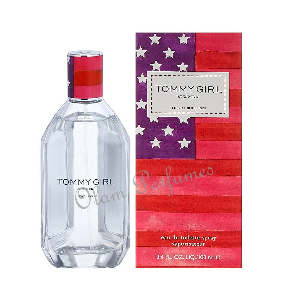 Tommy Girl Summer by Tommy Hilfiger Eau de Toilette 3.4oz