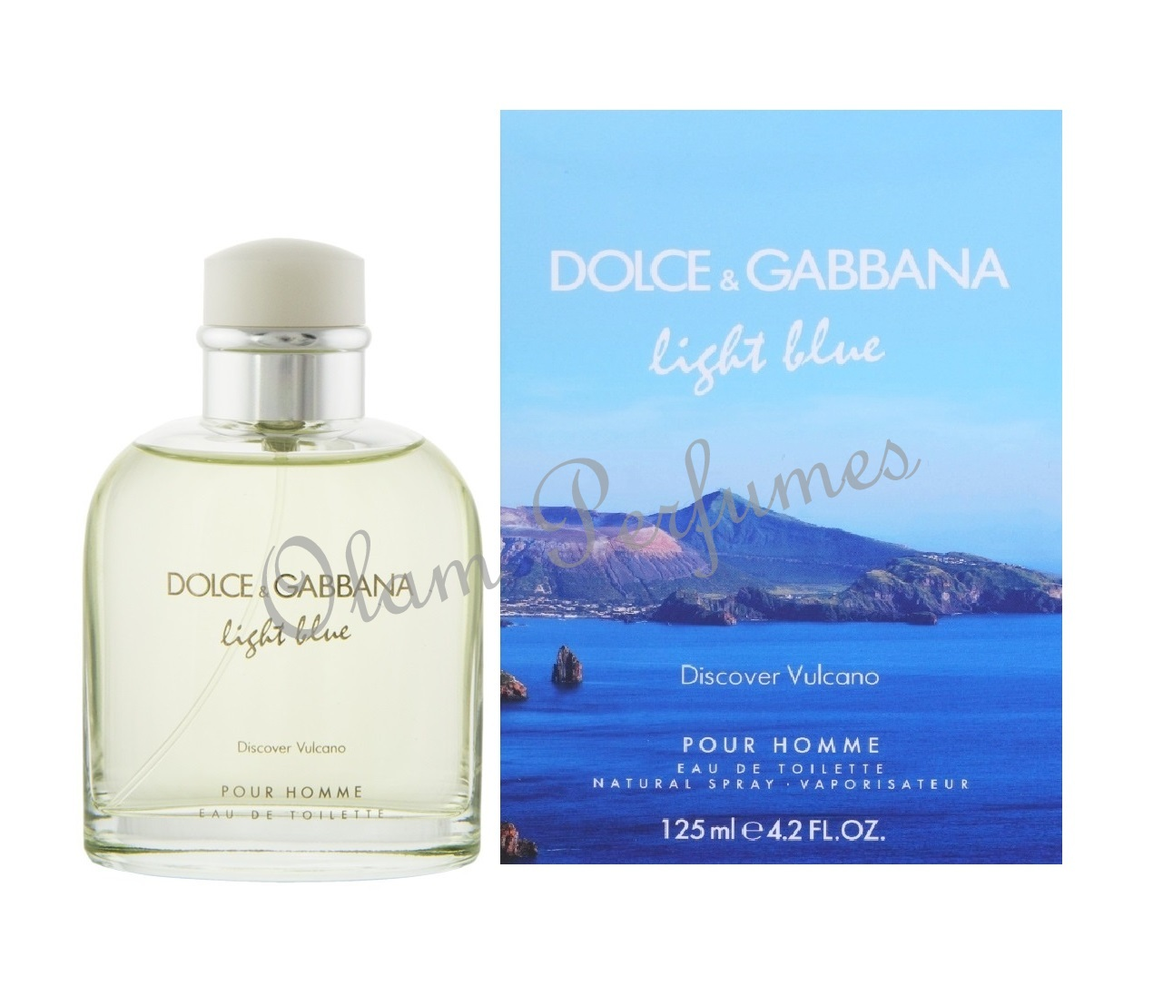 Dolce & Gabbana Light Blue Discover Vulcano 4.2OZ 125ml