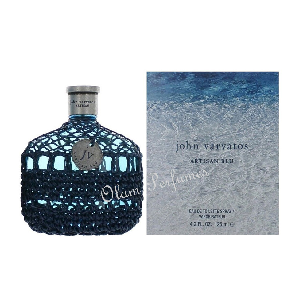 John Varvatos Artisan Blu For Men Eau de Toilette Spray 4.2oz 12