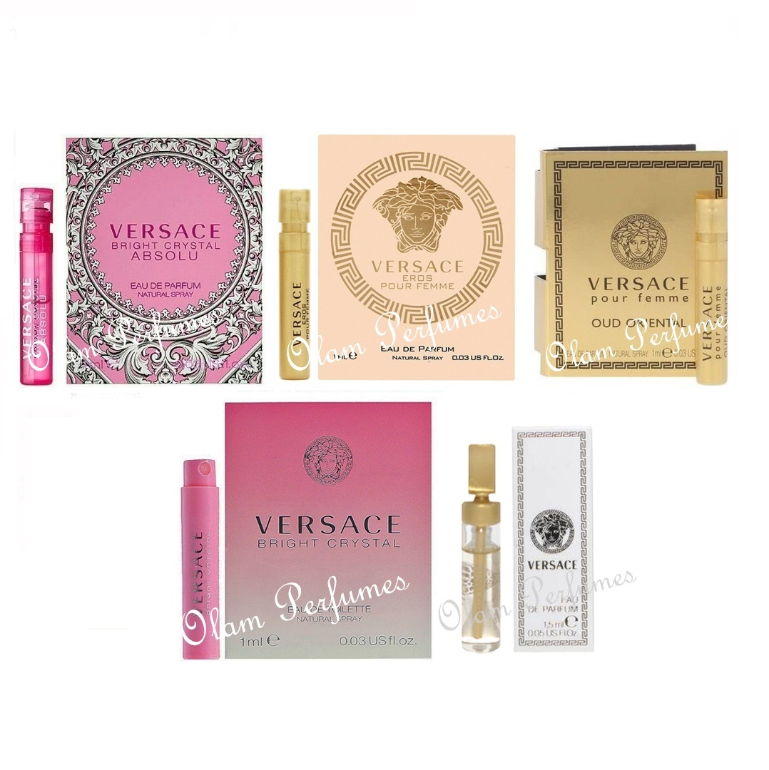 Versace Women Sample Set