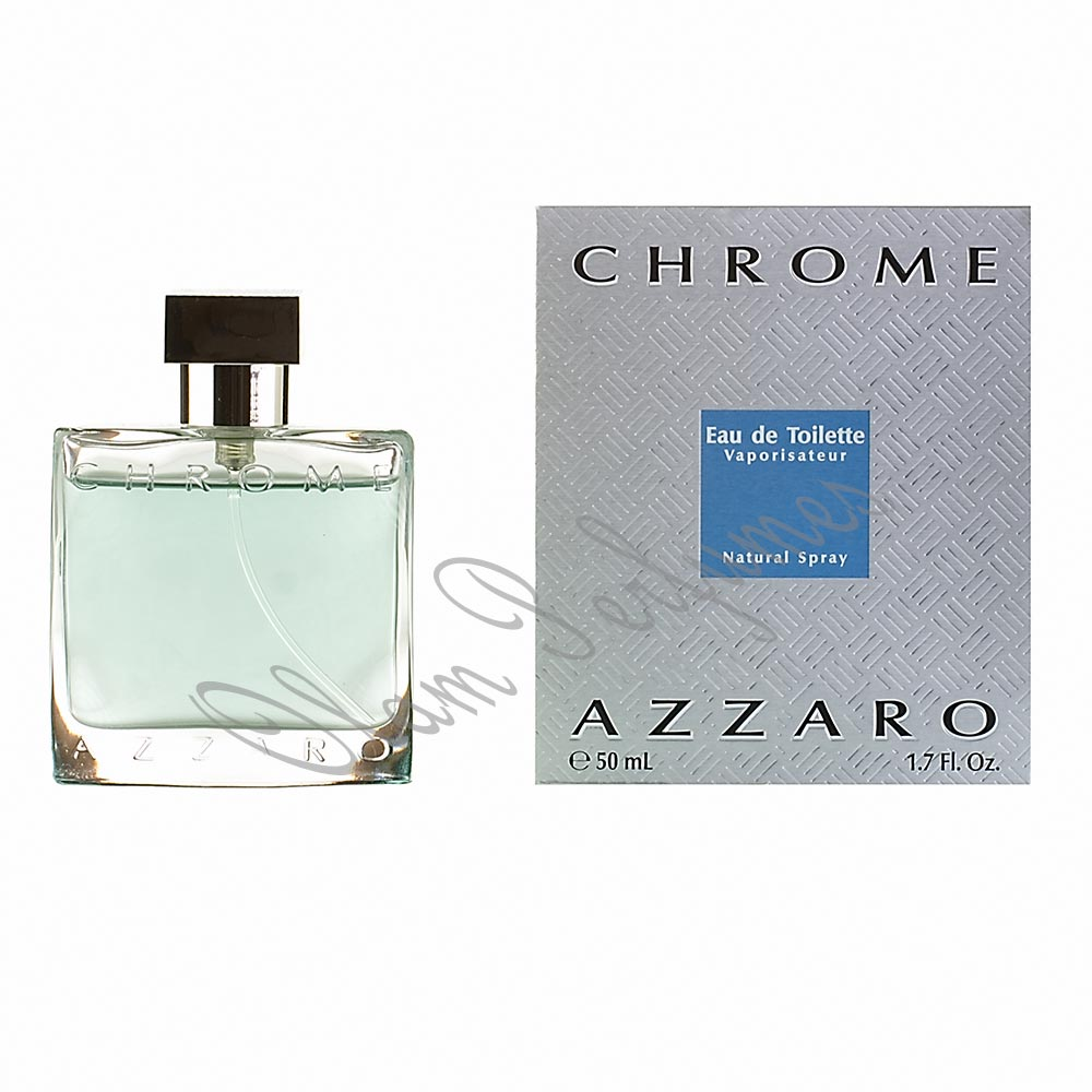 AZZARO CHROME EAU DE TOILETTE SPRAY 1.7oz