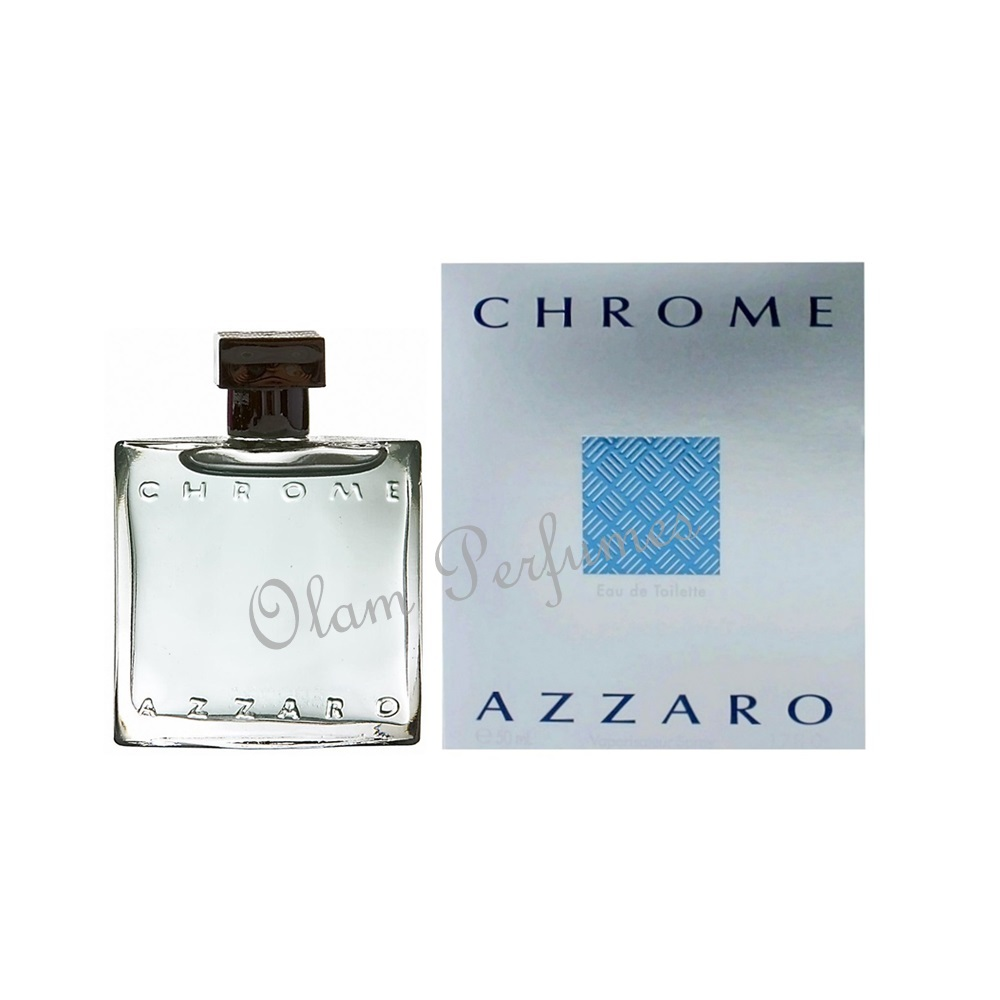 Azzaro Chrome Eau De Toilette Spray 1.7oz 50ml
